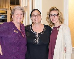 Wanda Gammell, Betty Anselmo & Lindsey Wherley