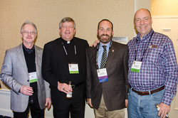 Ted Quill, Rev. Harold Hand, Clark W. Zimmerman & Patrick N