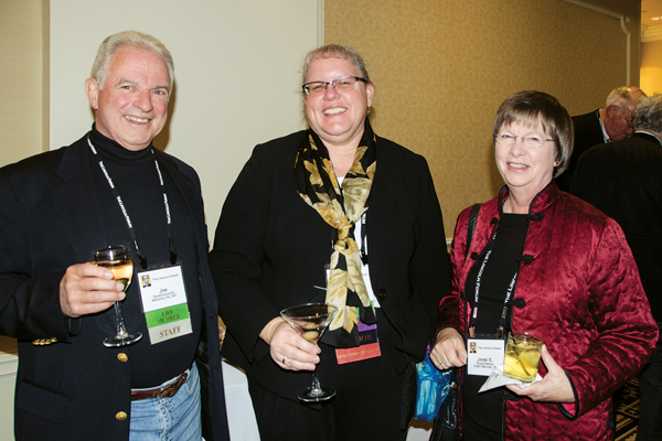 Jim Santagata, Michelle Krowl & Jane E