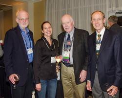 Tony Ten Barge, Angela Mayer, Bob Willard, and David Peyton