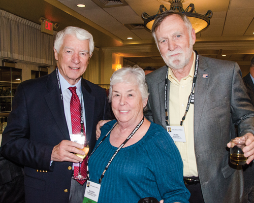 Bob Lenz, Sherry Gamrtsfelder & Mike Marlow