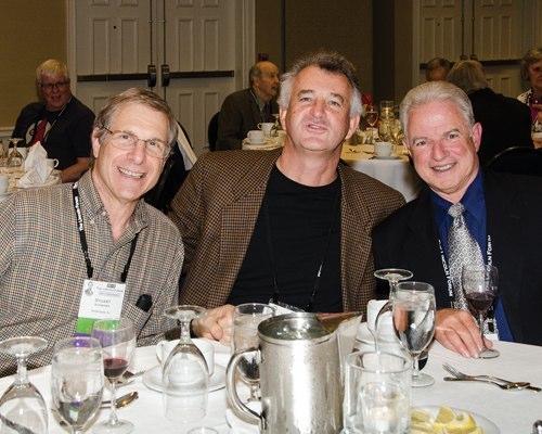 Stuart Schneider, John Bodnar, and Jim Santagata