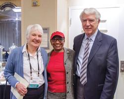 Sarah Thomas, Cathryn Harris & Bob Lenz