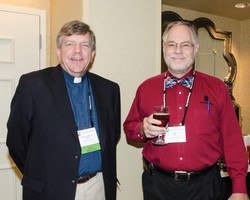 Rev. Harold Hand and Thomas S. Peet