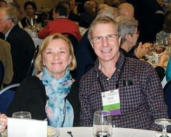 Paula Hopewell and Stuart Schneider