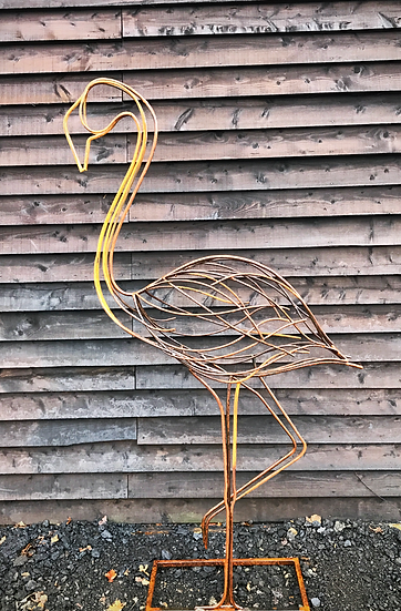 Flamingo Sculpture