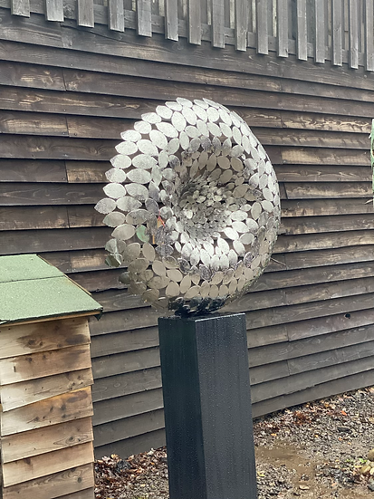 'Winter Breeze' Stainless Steel Sculpture