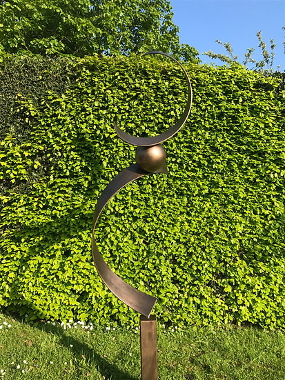 Equilibrio Abstract Sculpture Bronze