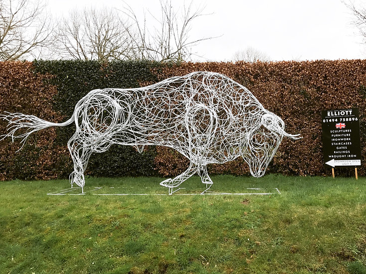 SOLD 'The Bull' Sculpture