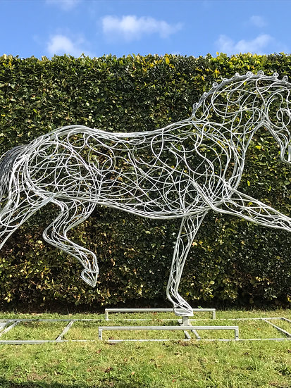 *SOLD * Dressage Horse Sculpture