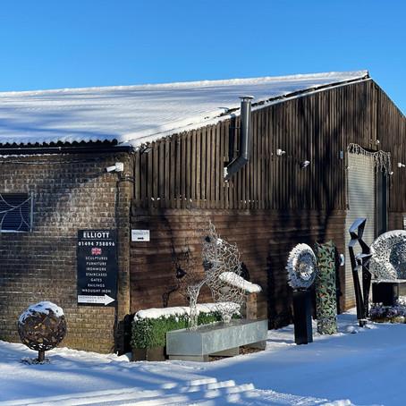Snow, Sculptures & Sculpting......