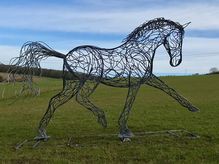 SOLD - Horse Sculpture