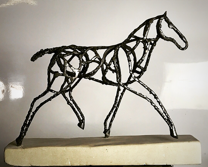 Foal Sculpture Interior Abstract