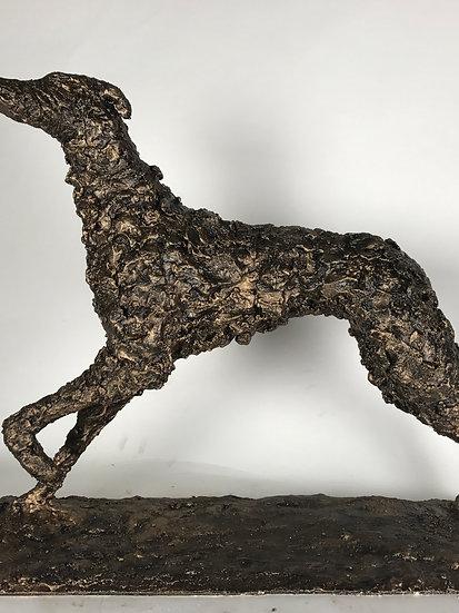 Lurcher Bronze Sculpture