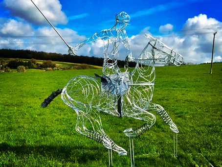 NEW Polo Pony Sculpture is Unveiled Internationally