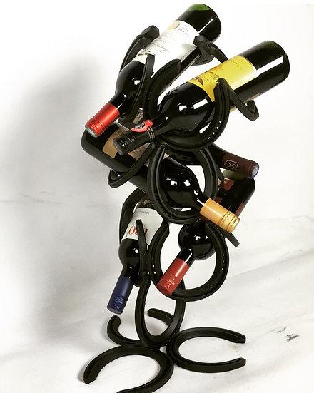 Horseshoe Wine Rack 6 Bottle