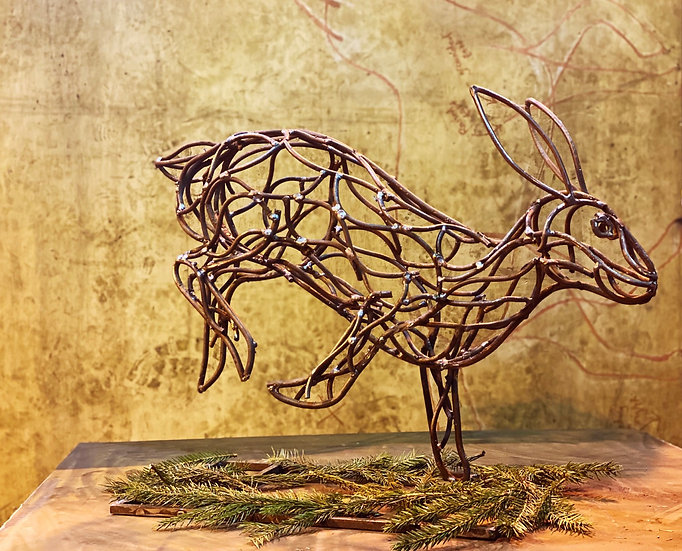 Bolting Hare