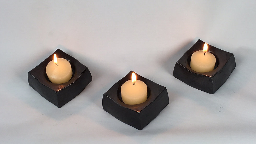 Hand Forged Candle Holders