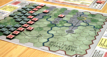 Game setup for BATTLE FOR MOSCOW