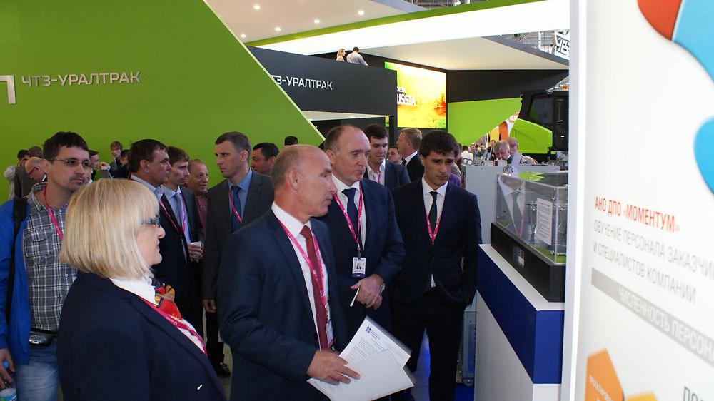 Губернатор Челябинской области, Борис Александрович Дубровский интересуется нашей продукцией