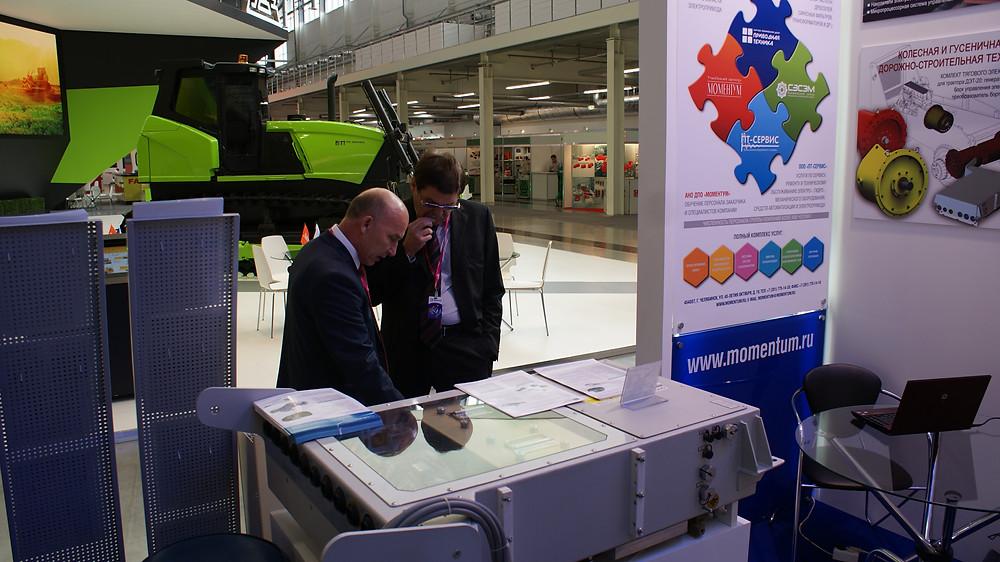 Первый заместитель губернатора челябинской области Комяков Сергей Львович оценил наш технический потенциал