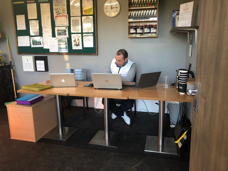 New Golf Office now open!