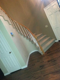 laminate in stairs