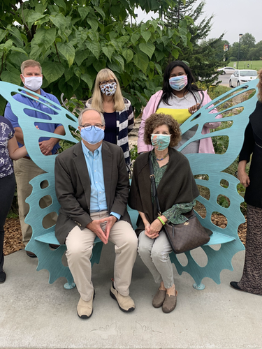 Kindness in Business Awards 2020 team: (clockwise, from left to right) Lorah Lackland, Mike Snyder, Kim Dude, Mikaela Ashley, Judy LeFevre, Joyce Smith and Randy Smith