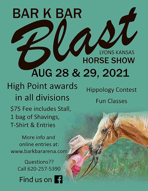 Blast Show Entries