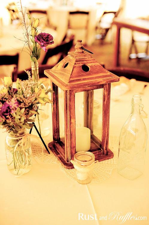 Wood Lanterns