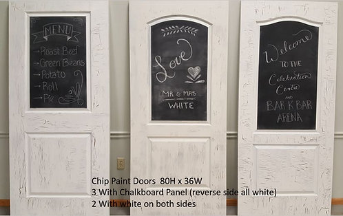 Chip Paint Doors