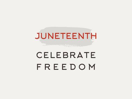 Jesus, Passover, and Juneteenth