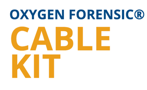 OXYGEN FORENSIC® Cable Kit