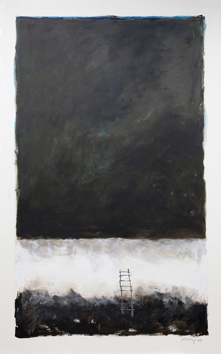 Acryl op karton, 90x150 cm