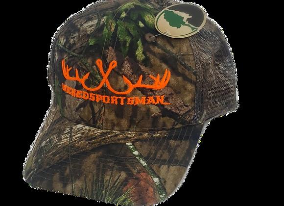 WICKEDSPORTSMAN Outdoor Trucker Hat
