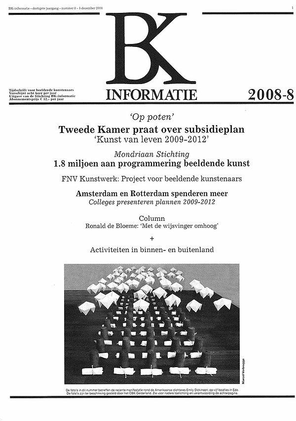 BK informatie kunst Verbrugge Emily Dick