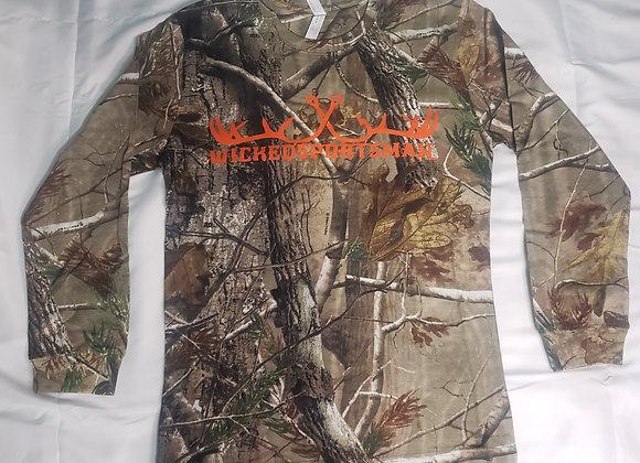WICKEDSPORTSMAN camouflage Long-sleeve Shirt