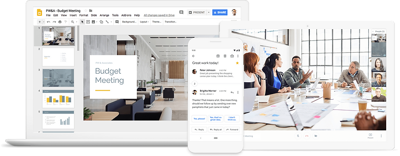 Get started with Gsuite by Google Cloud