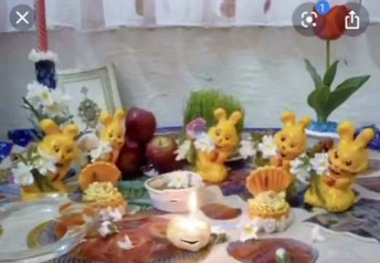 Bahareh Khoshooee, Happy New Year (Iran), 2020