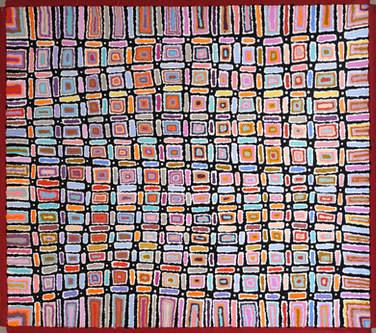 Lynette Nangala Singleton (122 x 107 cm)