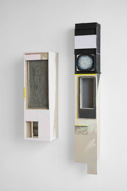 Anders Dickson: Soft cell and Landline with moth, 2019