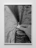 Luise Marchand, Preparing (Zipper, Multi-Touch-Glove & All-Weather Jacket), 2020