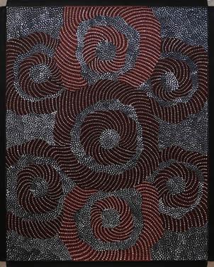 Grace Napangardi Butliner (76 x 61 cm)