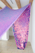 Bettina Allamoda,  Mora Bayılırdım Seni Tanımadan/ I loved purple before (I knew) you, 2021
