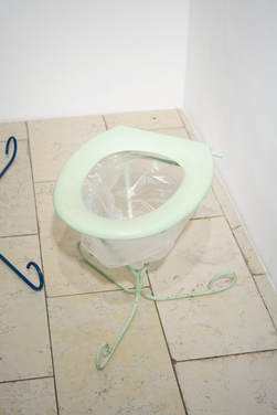 """Jochen Weber: """"Figur 62 (Toilette)"""", 2015"""