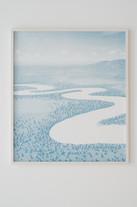 Meander (Blau), 2020