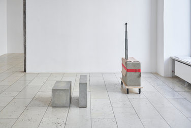 Mirjam Thomann: Beauty Case and Notebook Case, Pilot Trolley, 2015