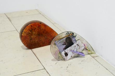 Johanna Gonschorek, Heart full of Pigments, 2019 & Reproductive Reflection, 2020