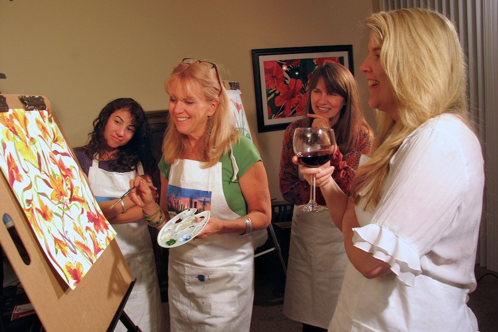 Karen Wagner Painting Party