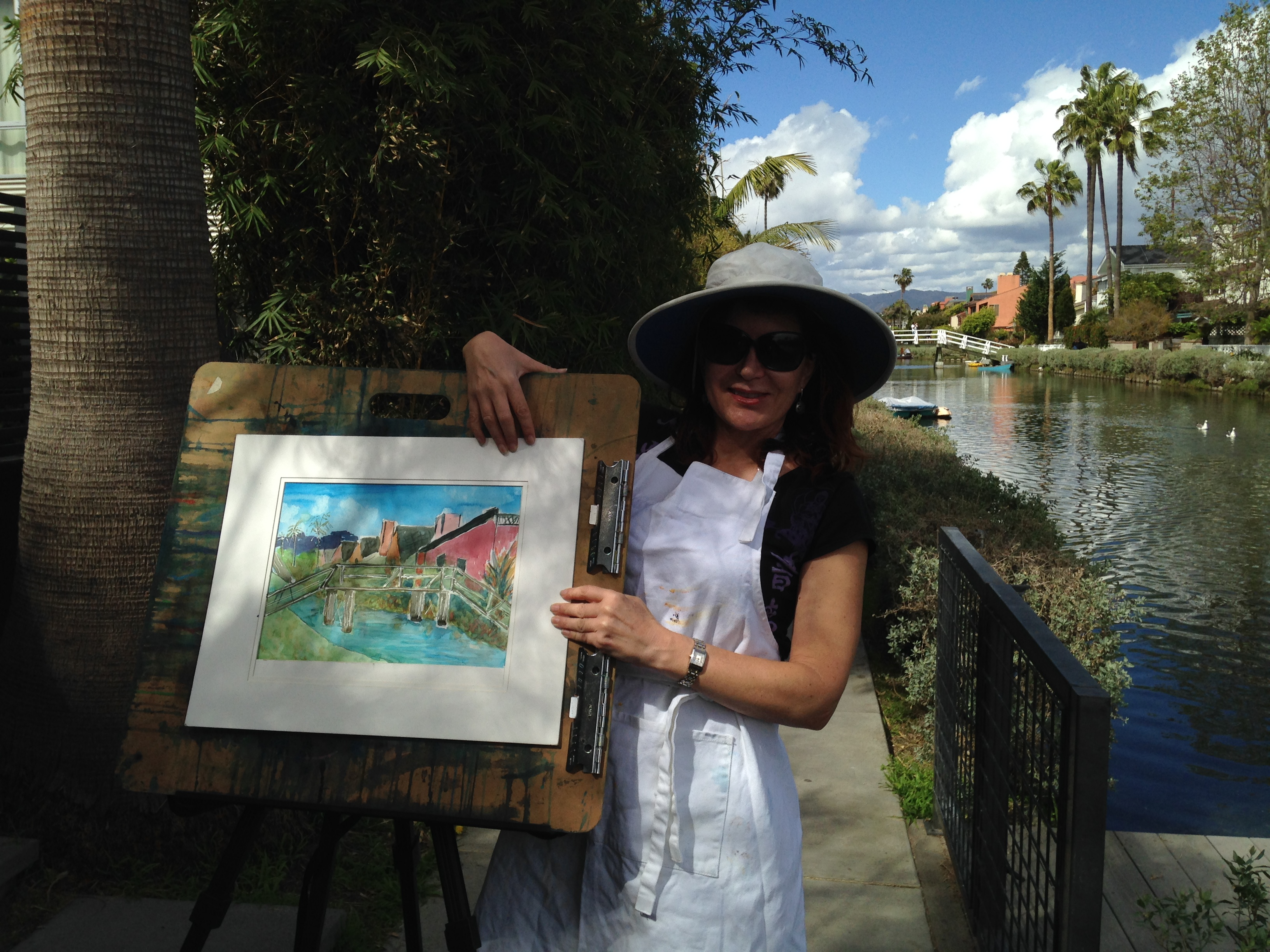 "Venice Canals ""Location Painting"""